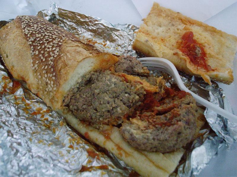 Salumeria Biellese Meatball Sandwich