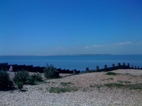 pebble beach, sunny day