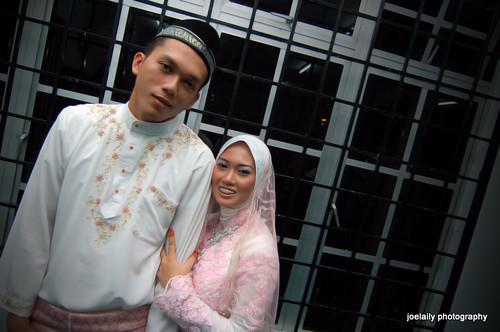 majlis nikah | wan & aisha