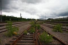 Railroad tracks, Pasila, Helsinki