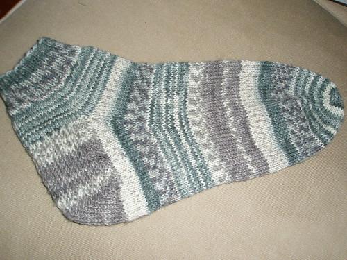 Hubby's Hedwig's Socks