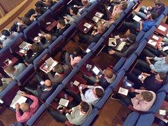 Conference Audience, Anno 2010 by Adriaan Bloem, on Flickr