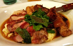 Pan Fried Pork Chop Saltimbocca