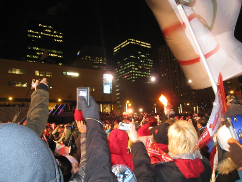 Olympic Torch in Edmonton