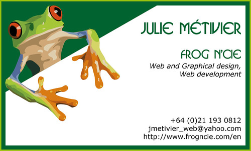 Business Card - Carte d'affaire