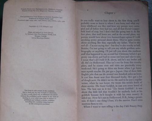Editions et premier chapitre