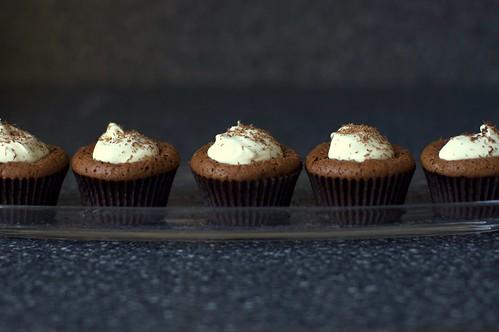 Chocolate Souffle Cupcakes