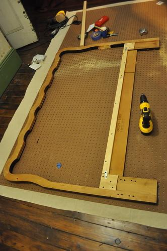 reattached crossbar