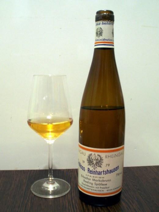 1979 Erbacher Markobrunn Riesling Spätlese, Schloss Reinhartshausen #1
