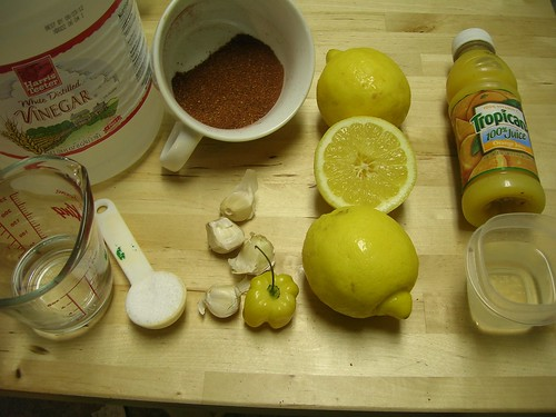 Achiote paste ingredients