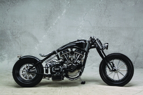 2009 Freestyle: Bender Built by  Fine Custom Mechanics, a Custom Shop based in Moscow, Russia