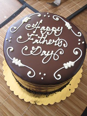 Happy Father's Day - chocolate cake delicious!