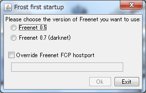 Frost first startup