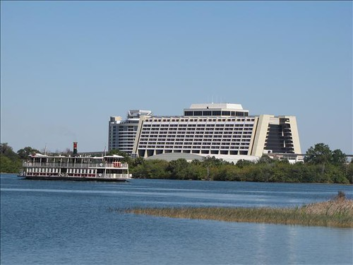 Contemporary Resort & Bay Lake Towers