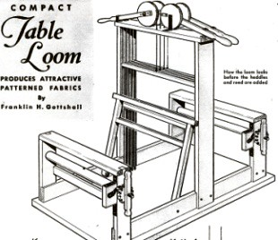 Woodworking Plans Table Loom Plans PDF Plans