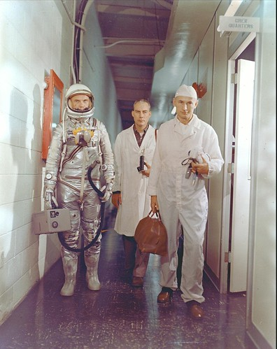 John Glenn, Mercury -- February 1962