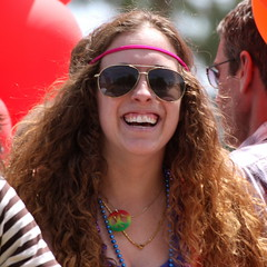Hippy at Phoenix Gay Pride Parade