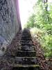 Mysteriöse Treppen Hinter Brücke