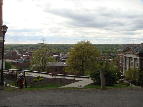 RPI - Pittsburgh Building and Downtown Troy
