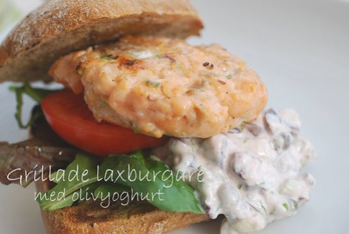 burgers with salmon