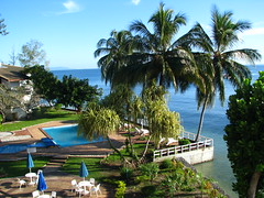 Pool Views in Honiara - Solomon Islands