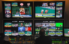 Nationals Park video control room