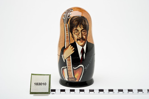 Beatles Russian Doll Belonging to Jo Brand