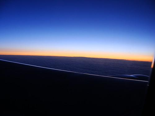 Flight Over the Atlantic