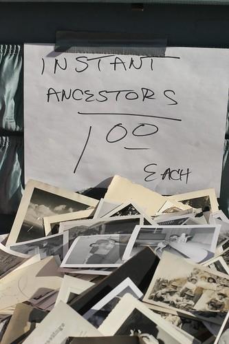 Instant ancestors $1 each
