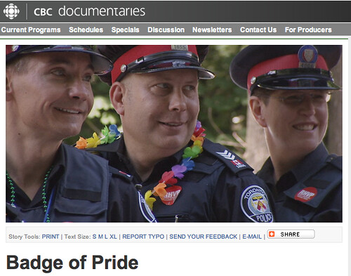 Badge of Pride asks: Will the force be with you if you're a gay or LGBT cop?