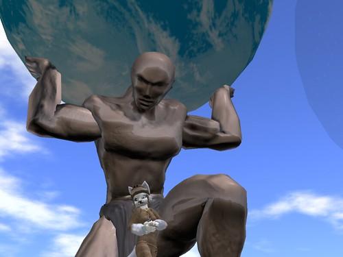 Fotoscope Statue