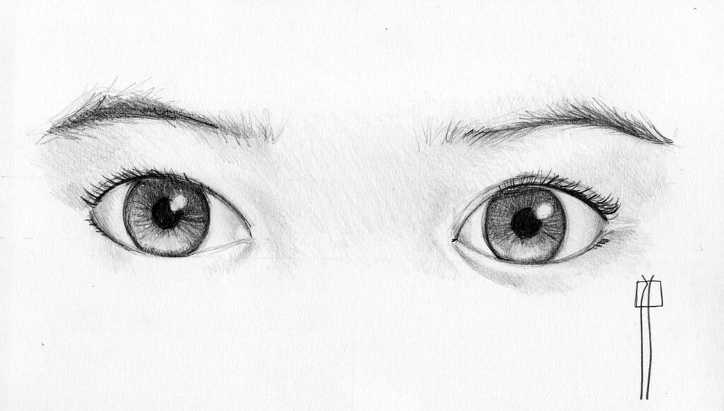 Como Dibujar Ojos Paso A Paso Con Lapiz