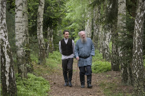 James McAvoy and Christopher Plummer