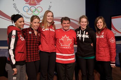 Canadian Women's Short Track Team