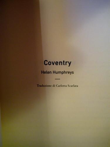 Helen Humphreys, Coventry, Playground 2010; graphic designer: Federico Borghi; frontespizio (part.)