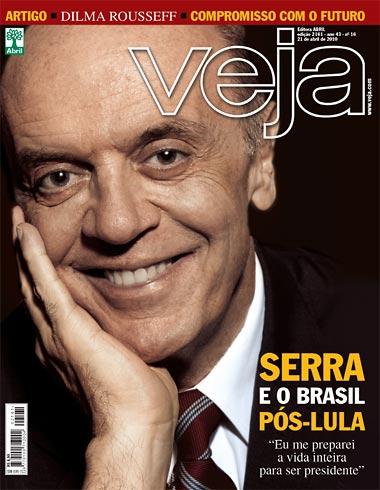 Serra - Capa da Veja