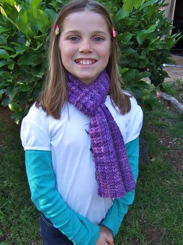 Jenny's new scarf