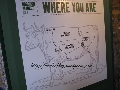 Borough Market map