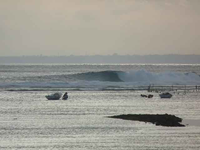 Low tide Shipwrecks