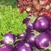 aubergines in Hanoi market