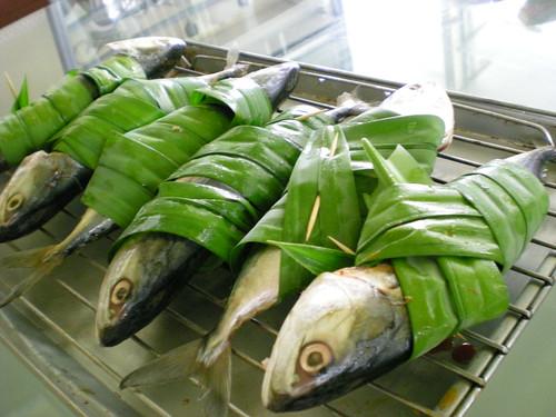 STP's baked pandan fish 1