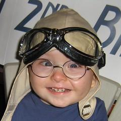 Giggling aviator
