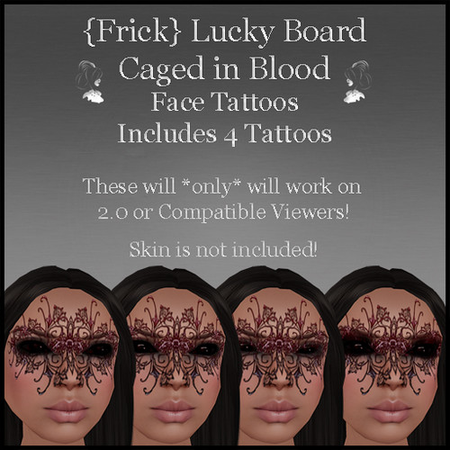 Frick - Caged in Blood Lucky Board