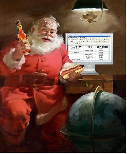 Season's Greetings: Santa's Spreadsheet