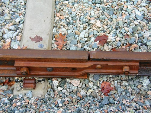 Old and new rail