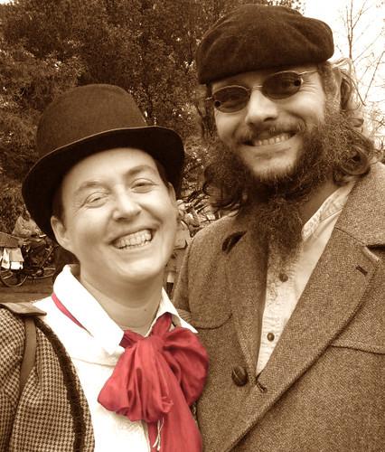 Katura Reynolds, Portland Tweed Ride, 2010