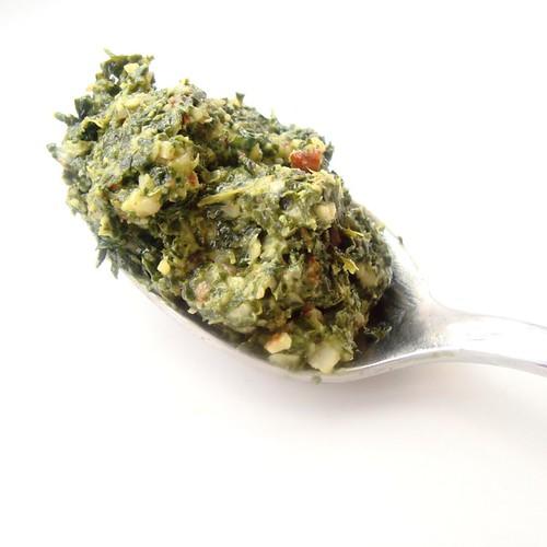 Homemade secret-ingredient pesto