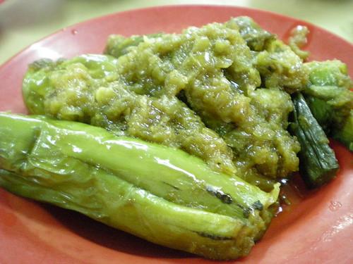Myamarese cuisine - vegetable 1