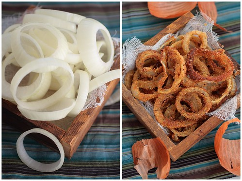 Uncooked and cooked rings
