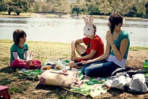 picnic at the park.